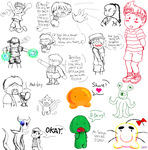 EarthBound Doodle dump 3 by Mystic-Fire