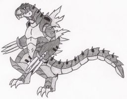 Code Red: Mecha Godzilla II by DinoHunter2