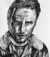 Rick Grimes by MailJeevas33