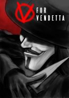 V for Vendetta by RavenOM