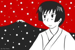 APH: Japan with Fuji-san by fiori-party
