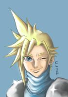 Cloud Strife color by Angy89
