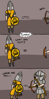Found out! - Skyrim by Death-of-all
