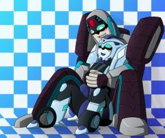 longarm and blurr by bbpuyo
