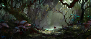 Swamp by asong0116