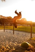 parkour afternoon by mini---MIR