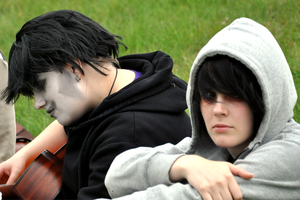 4 Chords Gamzee and Karkat by Cesia