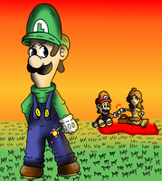 Loathsome Luigi by gamerman77