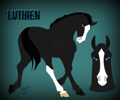 Luthien Ref by MatrixPotato