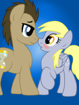 Derpy and the Doctor by AlexRozeHedgehog