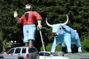 Paul Bunyan, Babe the Blue Ox by Ozzyhelter