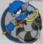 Sly Cooper.: Sonic Style by Darkeur
