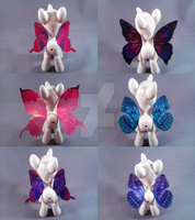 Fairy Wings for your ponies/dolls by LadySatine2004