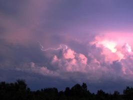 purple and pink clouds by Nipntuck3