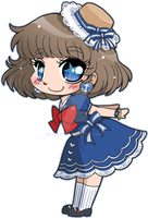Chibi Sailor ::Commission:: by YamPuff