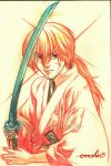 Kenshin (pencils) by emmshin