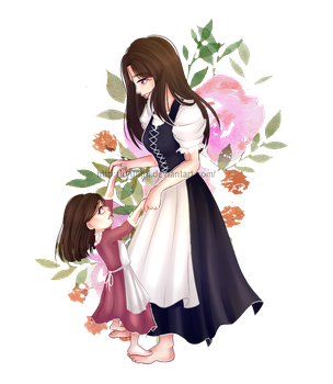 [T-C] ms martin and martin jr by kyungii