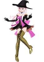 Project Diva Arcade Future Tone Witch Style Luka by Luke-Flame