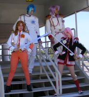 Utena Group Cosplay by angelfacade