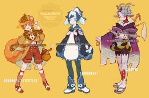 [Adoptables] Galaxbon 08+09+10 open by renos13