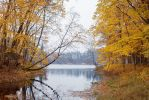 Autumn river 2 by mary-petroff