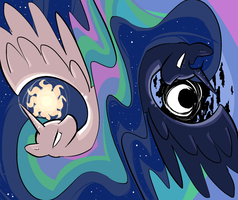 Of the Sun and of the Moon by OpticalPopcorn