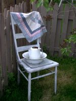 Chair with Pitcher and Basin by rkStock