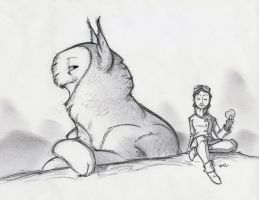 Owl Griffin Cookie Disdain by RobtheDoodler