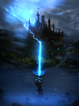 Excalibur (commision) by ryky