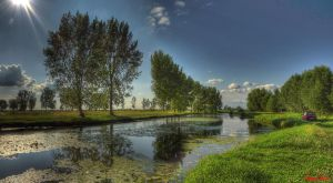 Hungary landscapes. Panorama photo. by magyarilaszlo