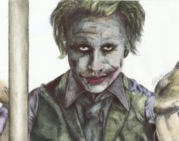 The Dark Night - The Joker by Dizraeli
