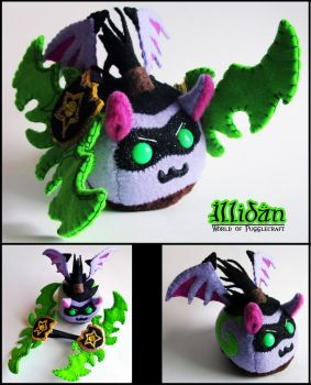 World of Pugglecraft - Illidan by callykarishokka