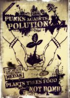 punk againt polution by dinonino