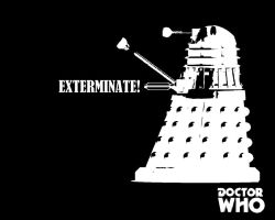 Doctor Who - Exterminate by MaxRScape