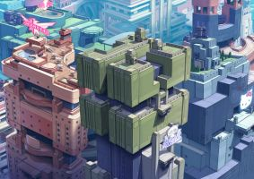 Deco City by DrewMorrow