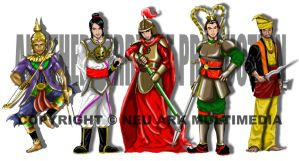 Some warriors? by terryrism