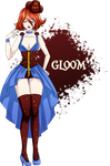 [Pokemon Gijinka] GLOOM by Nii-hon