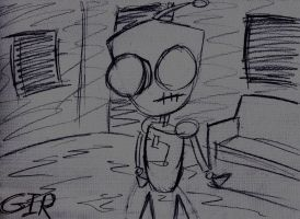 Gir Sketch by Shaed-Knightwing