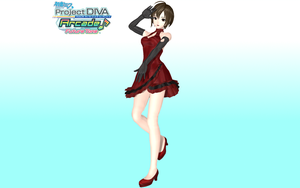 Project Diva Arcade Future Tone Scarlet Meiko by Luke-Flame