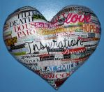 Custom 3D heart with sentiments by KatHaas2013