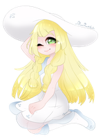 Lillie by AlexRockCat