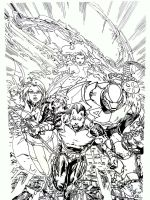 Ultimate Xmen Fantastic Four by NewEraStudios