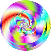 Digital Inception of the Primary Fractal by poetrymanpoetry