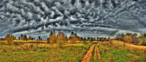 Autumn. Sky. Pano2 (Killing skies) by DenChetto
