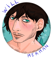 Hannibal mermaid AU - Will the merman by FuriarossaAndMimma