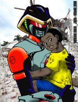 Sable's Hug for Haiti by demunlawin
