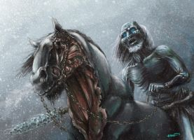 Icewalker of Game of Thrones by edgarsh422