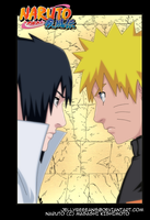 Naruto 485 Cover Color by jellybeeeans