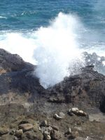 Hawaiian BlowHole by Jessawary