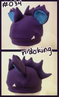 Nidoking hat by Hazuza